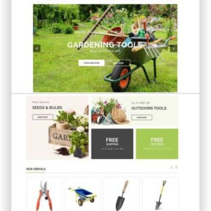 Shopify Garden Theme