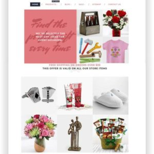 Shopify Theme Gift Store