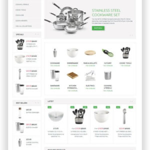 Shopify Cookware Theme