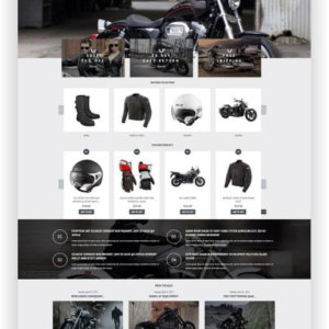 Shopify Motocycle Shop Theme
