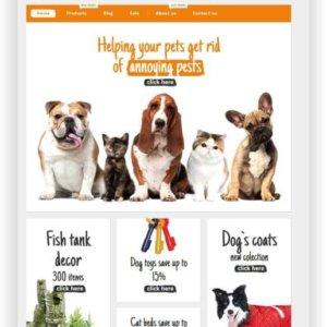 Shopify Pet Shop Theme