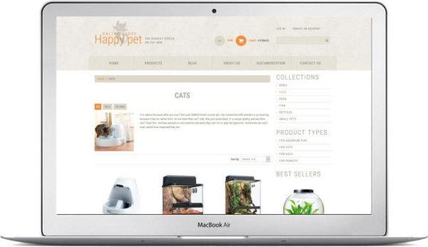 Petshop Theme Shopify