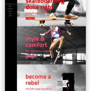 Shopify Skateboard Shop Theme