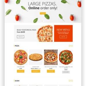 Online Pizza kreieren