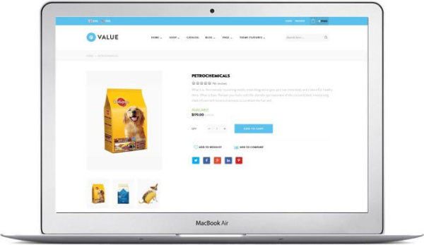 Shopify Petfood Store Theme