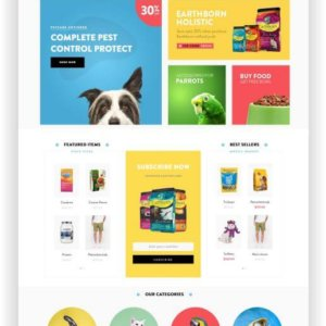 Shopify Petfood Store Theme
