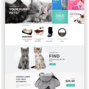 Shopify Pet Store Theme
