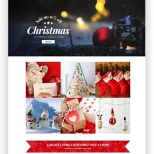 Shopify Christmas Theme