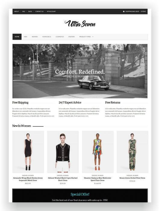 Simple WooCommerce Theme