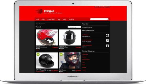 WooCommerce Biker Store Theme