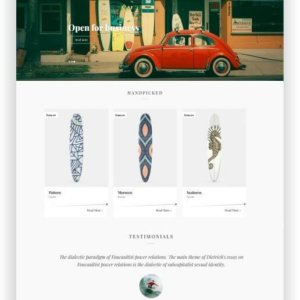 WooCommerce Board Store Theme