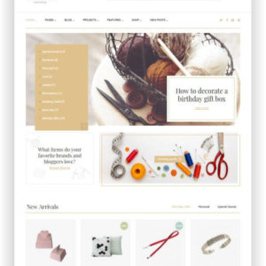 WooCommerce Craft Shop Theme