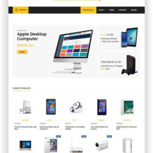 WooCommerce Electronic Store Theme
