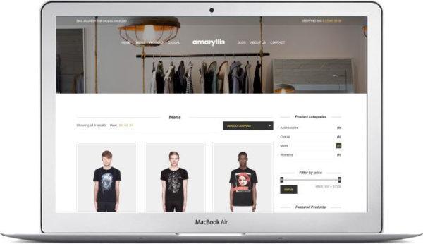 Modern Fashion Theme for WooCommerce