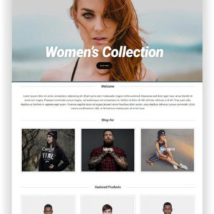 Modern WooCommerce Fashion Theme
