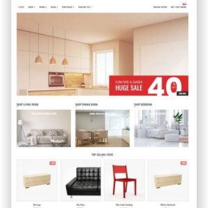 WooCommerce Furniture Store Theme