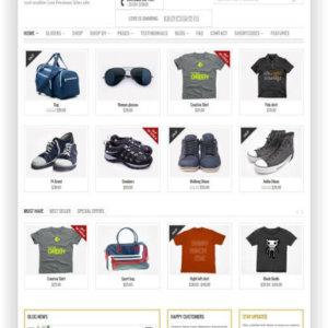 WooCommerce Multipurpose Template