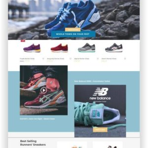 WooCommerce Sneaker Store Theme