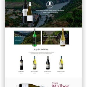 WooCommerce Wine Store Theme