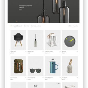 WooCommerce Designer Shop Theme