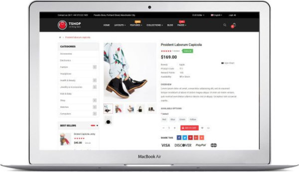 OpenCart 3.0 Fashion Shop Theme