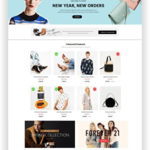 OpenCart 3.0 Fashion Shop Theme