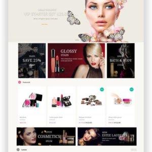 OpenCart Beautyshop Template