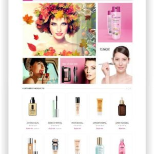 OpenCart Beauty Store Theme