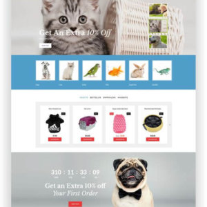 OpenCart Pet Shop Theme