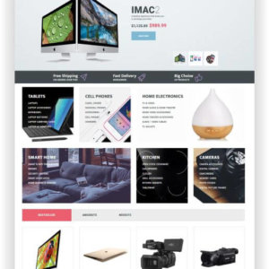OpenCart Electronic Store Theme