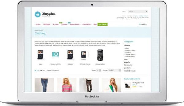 OpenCart Multipurpose Topic