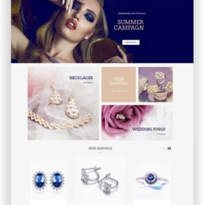 OpenCart Jewellery Store Theme