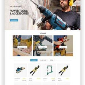 OpenCart Tool Store Theme