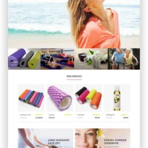 Opencart Yoga Theme