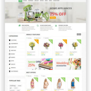 PrestaShop Superstore Theme