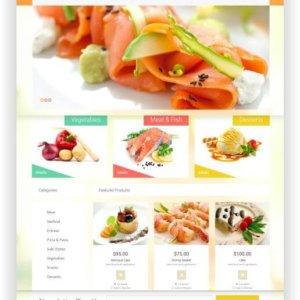 WooCommerce Foodstore Theme