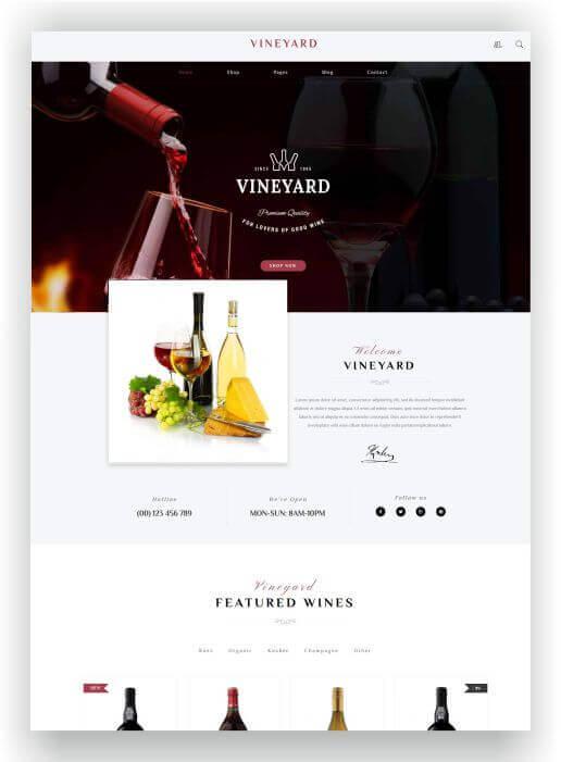 WooCommerce Wein Onlineshop