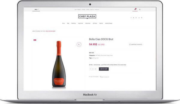 WooCommerce Online Wine Store
