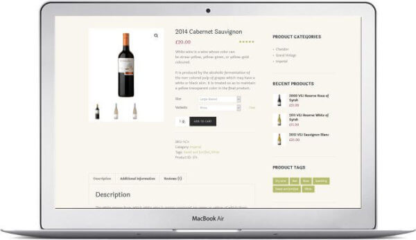 Sell wine online with WooCommerce
