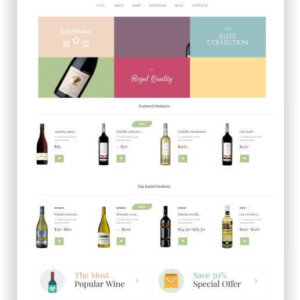WooCommerce Wine Onlineshop Theme