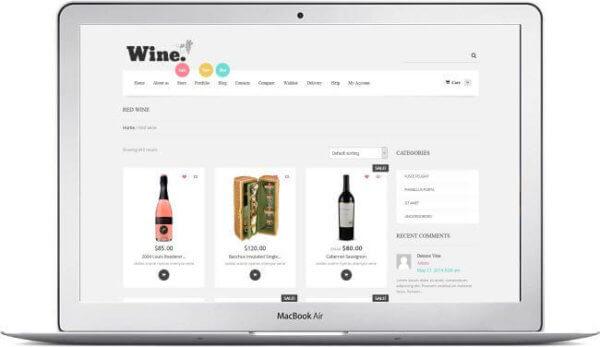 WooCommerce Wine Supermarket Theme