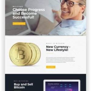 WordPress Bitcoin Blog and Magazine