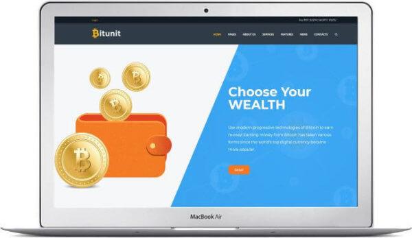 WordPress Bitcoin Blog and Magazine