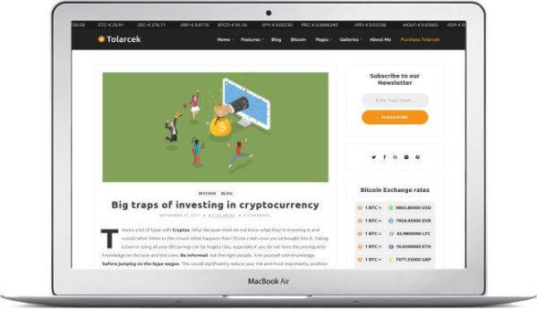 WordPress Crypto Theme