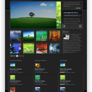 WordPress Photoblog Theme