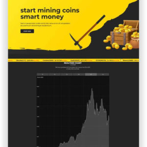 WordPress Cryptocurrency Theme