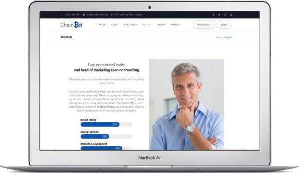 WordPress Kryptowährung Thema