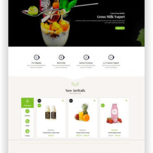 Bio Onlineshop Thema