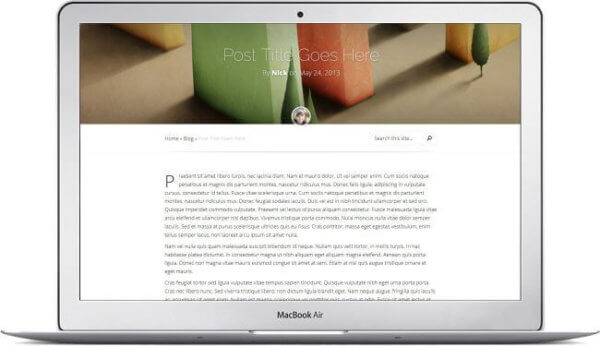 modern Blogtheme