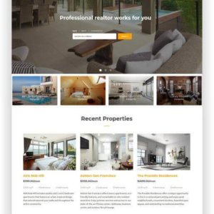 HTML Real Estate Theme